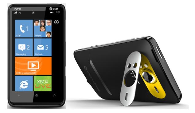HTC HD7S sous Windows Phone 7