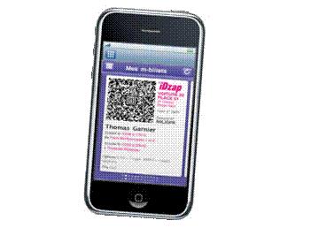 iDTGV sur l'iPhone