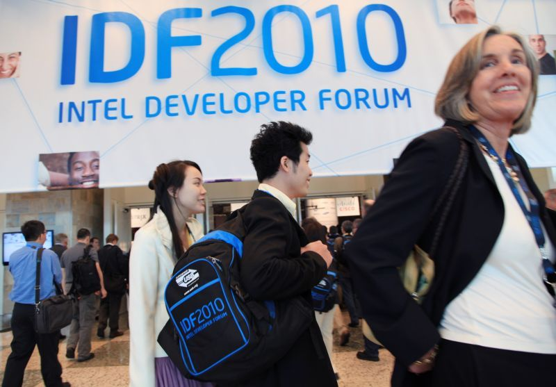 Intel Developper Forum 2010