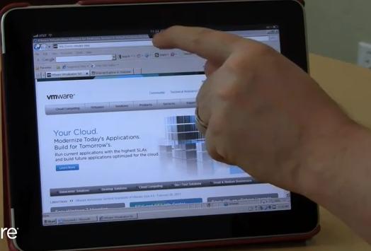 VMware View Client pour iPad