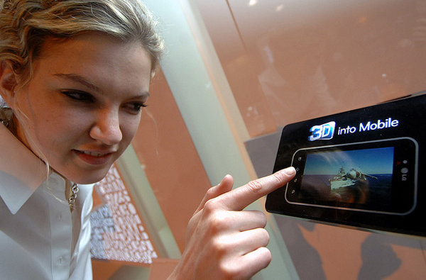 LG 3D mobile