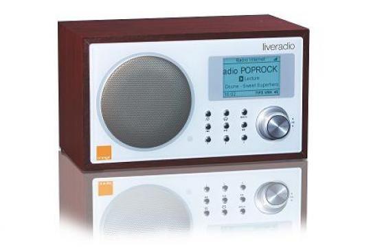 la nouvelle radio wi fi d orange est aussi un lecteur de. Black Bedroom Furniture Sets. Home Design Ideas