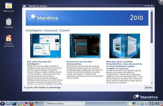 Mandriva linux 2010 spring une rc2 pour le 1er juin for Application miroir blackberry