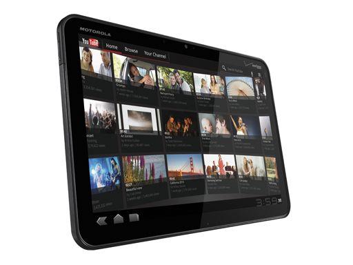 La Xoom, la première tablette de Motorola Mobility sous Android