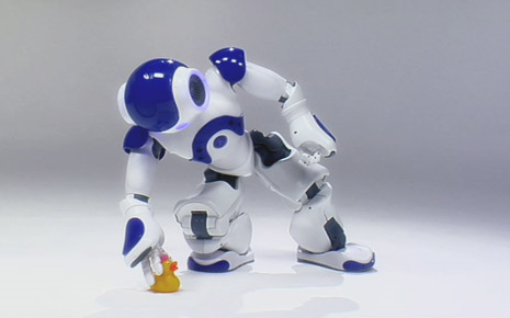 Nao, robot humanoïde de Aldebaran Robotics