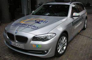 NXP avec BMW implémente la solution eCall