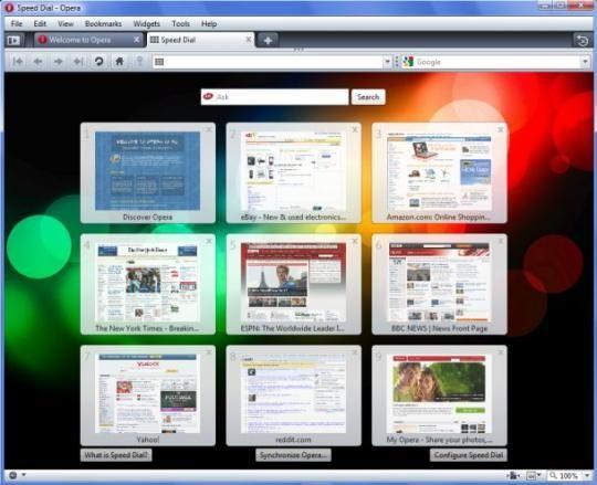 Navigateur: Opera Software ouvre Opera 11 aux extensions