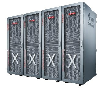 Oracle-Sun Exadata X2-8, un système full rack avec 2 serveurs de bases de données et 14 serveurs de stockage