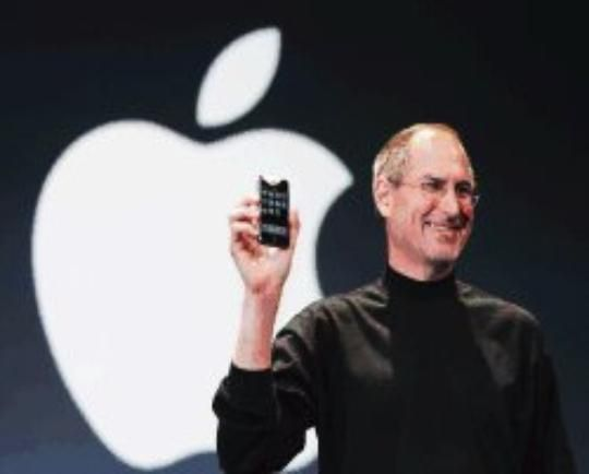 phone apple steve jobs