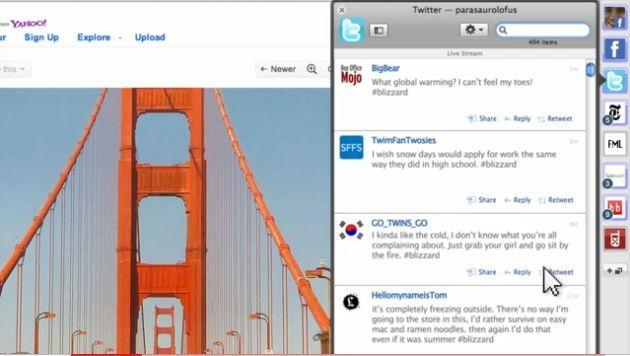 RockMelt, un navigateur orienté réseaux sociaux