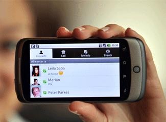 Les client Skype disponible sur Android