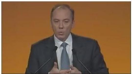 Stéphane Richard, directeur général de France Telecom/Orange