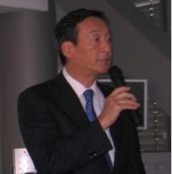Satoru Hayashi, vice chairman, Fujitsu